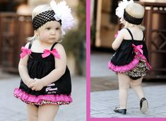Christian Baby Infant Boutique Clothes Ruffled by AgapeGiftsOnline