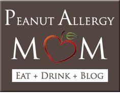 Peanut Allergy Mom--peanut free snacks for school
