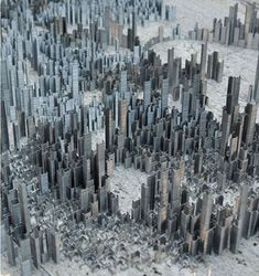 City-Of-Staples-by-Peter-Root-0  I used to do this, but I never had more than one box of staples to work with...