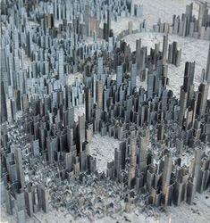 ik vind het mooi hoe je met zoveel nietjes een stad kunt bouwen. Dat vind ik gewoon onbegrijpelijk, maar wel mooi. en er zit ook een bepaalde structuur in.