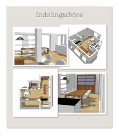 indelingadvies - Interieur design by nicole & fleur Interieur design by nicole & fleur