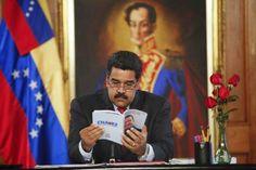 Armario de Noticias: Maduro evita hablar de economía y hace cambios lig...