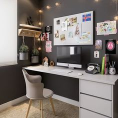 home office ideas; small home office; - home office ideas; small home office; home office id - Home Design, Interior Design, Design Desk, Design Room, Home Office Space, Home Office Desks, Office Decor, Office Workspace, Interior Office