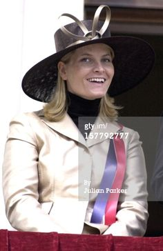 2003 Norwegian National Day : News Photo-Princess Mette Marit
