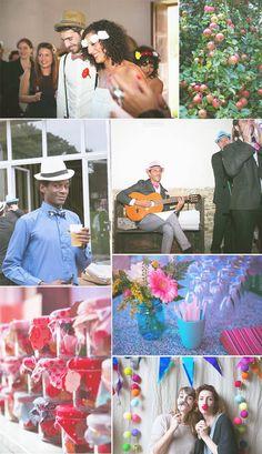 Trendy Wedding ♡ blog mariage • french wedding blog: {Jiji & Julien} Mariage bucolique sous le signe du rouge et du cool