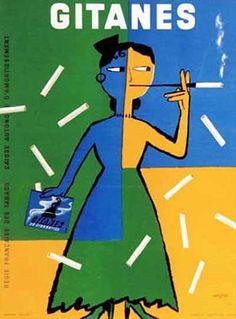 Gitanes – Raymond Savignac – Francia (1954)