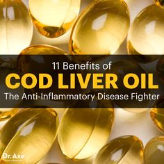Cod liver oil - Dr. Axe http://www.draxe.com #health #holistic #natural