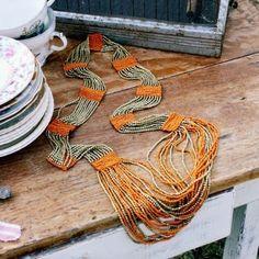 Indian Blanket Necklace...
