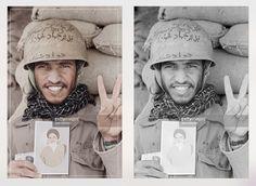 An Iranian Soldier @ Iran Iraq War