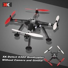 ﹩272.46. NEW XK Detect X380 2.4G RC Quadcopter RTF Drone Without Camera &Amp; Gimbal R9M2   ISBN - Does not apply,