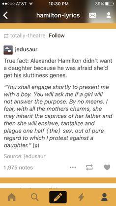 Awwww Alexander Hamilton