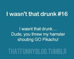 Sounds like me when I go crazy