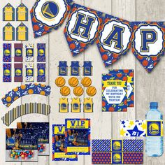Etsy: Instant Download NBA Golden State Warriors by DecorAtYourDoor.