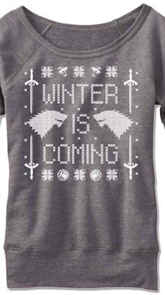 This perfect Game of Thrones sweater that'll be 100% accurate. | 21 Christmas Sweaters You'll Totally Want To Wear This Year