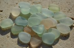 Genuine Beach Sea Glass  Small Pastel Mix  Jewelry by beachglow, $29.99