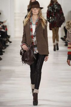 Polo Ralph Lauren Fall 2014 Ready-to-Wear Collection Slideshow on Style.com