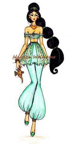 The Disney Diva's collection by Hayden Williams: Jasmine