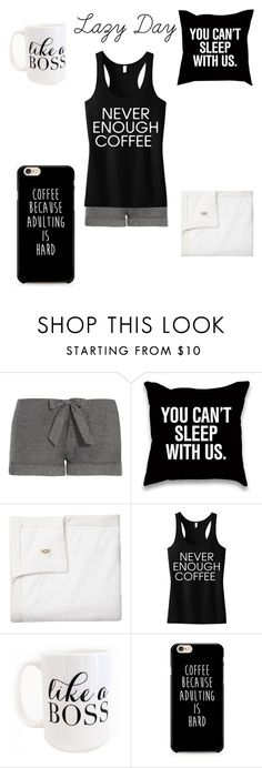 """""""Lazy day"""" by a-hidden-secret ❤ liked on Polyvore featuring Bodas, Victoria's Secret and Moon and Lola"""