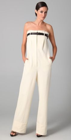 Incredibly high waisted pants. The opposite of sagging.