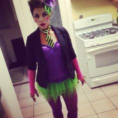 Girl joker costume  sc 1 st  Pinterest & Girls Joker tutu costume | Halloween | Pinterest | Joker Tutu and ...