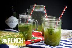 Pineapple Gin Punch from @Tracy Stewart Benjamin // Shutterbean