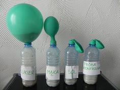 drożdże Spray Bottle, Water Bottle, Diy And Crafts, Crafts For Kids, Science For Kids, Cleaning Supplies, Inspiration, Kindergarten, Education