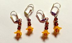 Removable Crochet or Knit Stitch Markers by GreenPhoenixDesigns, $10.00