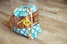 Draw String Toy Bag