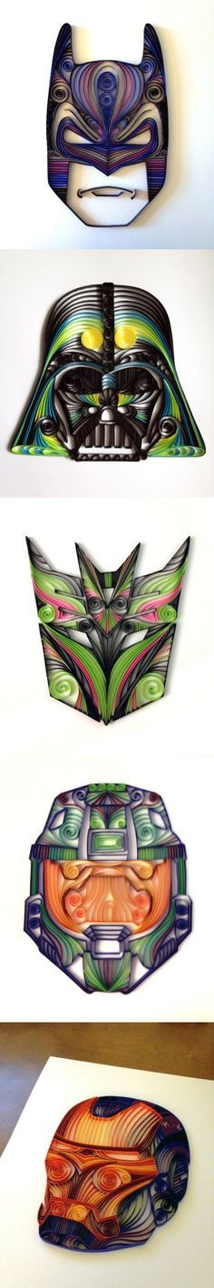 Delightfully Geeky Paper Quilling -Transformers