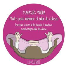 """35 Me gusta, 4 comentarios - @lusatnam en Instagram: """"Mahasirs mudra para eliminar el dolor de cabeza #mahasirs #mudra #yoga #kundaliniyoga #ilustration…"""""""