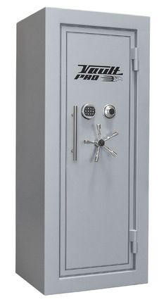 """American Eagle Series Safe, AE-730, 72"""" height x 30"""" width x 28"""" depth, Polished Gray Gloss Finish with Black Double Pinstripes, Redundant Locking System, Stainless Steel 5-Prong Hangle, Custom Stainless Safe pull handles"""