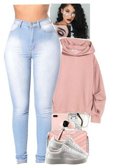 """Untitled #1930"" by toniiiiiiiiiiiiiii ❤ liked on Polyvore featuring Michael Kors, GUESS, MICHAEL Michael Kors and Puma"
