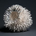 Junko Mori silver piece in the collection of Sheffield Assay Office