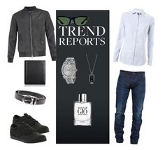 """""""Something for man"""" by dinelaa ❤ liked on Polyvore featuring Snake & Dagger, Tommy Hilfiger, Timberland, Montblanc, Ray-Ban, Rolex, Giorgio Armani, Emporio Armani, Tumi and women's clothing"""