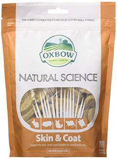 Oxbow Natural Science Skin & Coat oz - Works great, seems to be a quality design.This Oxbow Animal Health that is ranked 38420 in the list of the top-sellin Probiotics For Dogs, Indestructable Dog Bed, Red Palm Oil, Hamster Care, Liquid Vitamins, Cat Nutrition, Cute Hamsters, Pet Health, Science And Nature