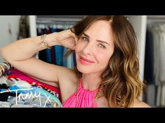 Closet Confessions: How To Style Summer Dresses | Fashion Haul | Trinny - YouTube Trinny Woodall, Wrap Over Dress, Verbs List, Style Summer, Getting Organized, Confessions, Kaftan, Fashion Dresses, Summer Dresses