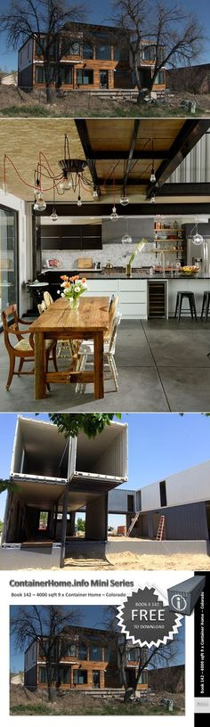 nice Shipping Container Homes Book Series – Book 142 - Shipping Container Home Plan... by http://www.danazhome-decor.xyz/tiny-homes/shipping-container-homes-book-series-book-142-shipping-container-home-plan/