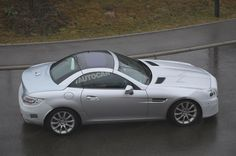 Mercedes-Benz SLC spotted ahead of early 2016 reveal - Mercedes Benz SLK Forum