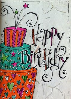 Birthday Quotes : Happy Birthday Art birthday happy birthday happy birthday wishes birthday quotes happy birthday quotes birthday quote Happy Birthday Art, Happy Birthday Pictures, Happy Birthday Greetings, Birthday Love, Birthday Ideas, Birthday Blessings, Birthday Wishes Quotes, Birthday Messages, Birthday Clips
