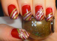 Inspiring Winter Snowflake Nail Art Ideas  Designs 2012/2013 For Girls | Girlshue