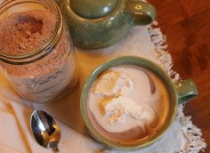 Homemade Hot Chocolate Mix from The Sisters Cafe.  So much better than the store bought stuff!