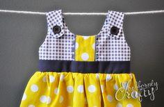 Itty Bitty Handmade Baby Dresses - Stubbornly Crafty