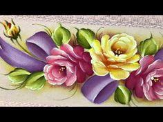 Pintura em Tecido - Frutas e Flores — Revista Artesanato