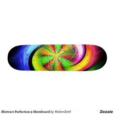 Abstract Perfection 9 Skateboard