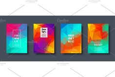 Mosaic Designs, Abstract Backgrounds, Bar Chart, Triangle, Banner, Creative, Banner Stands, Bar Graphs, Banners