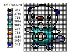 Pokemon Cross Stitch by cdbvulpix on deviantART