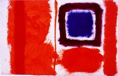 Patrick Heron - Works from 1956 to 1969 Abstract Images, Painting Abstract, Patrick Heron, Blue Square, Make Your Mark, It Works, Make It Yourself, Scarlet, Gallery