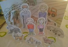 I was asked by Loubilou to review a craft set they sell online.Carddies are fun sets of Card People who live in a box. You colour them in, give them names and make up stories. There is a collectio…