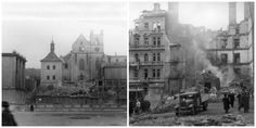 The Unfortunate Valentine's Day of When by accident the US bombers attack Prague instead of Dresden. Us Bombers, Prague Czech Republic, Dresden, History, City, Blog, Pictures, Photos, Historia