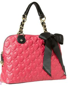 Betsy Johnson one and only purse. I want this bag so bad.